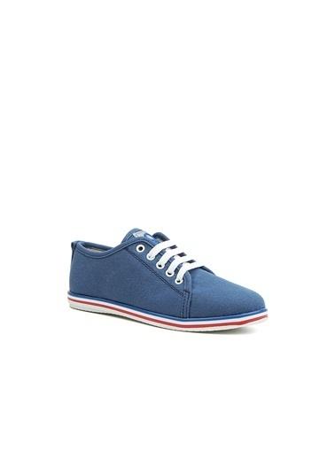 Benetton Bn30225  Kadın Spor Ayakkabı Mavi